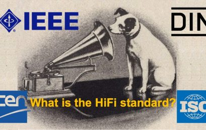 HiFi – what exactly does it mean? High Fidelity definition, DIN, EN, ISO, IEEE?